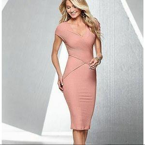 Venus Ribbed Bodycon Dress